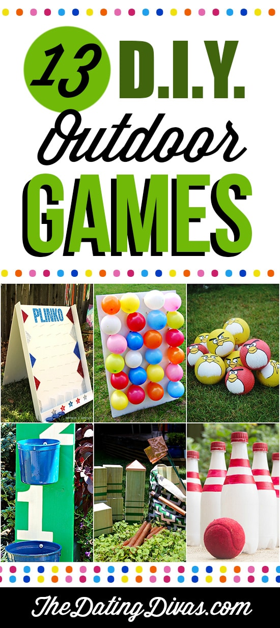 13 DIY Outdoor Games