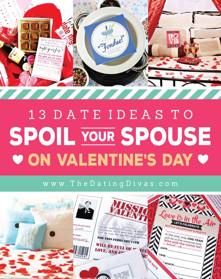 86 Ways to Spoil Your Spouse on Valentine\'s Day - From The Dating ...