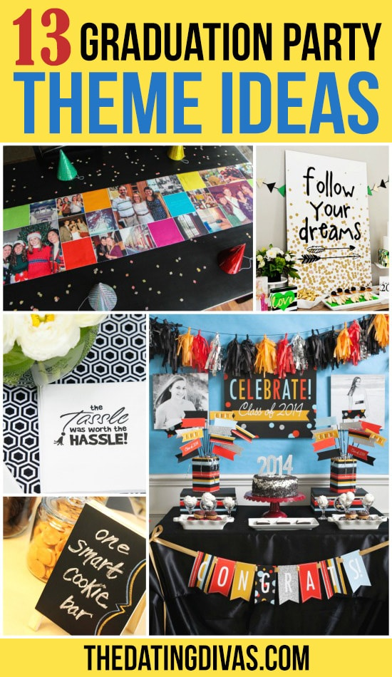 13 Graduation Party Theme Ideas