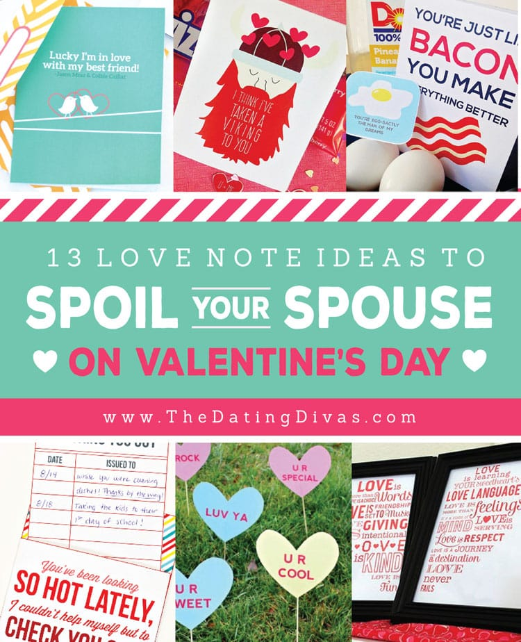 collage of Cute Love Notes ideas