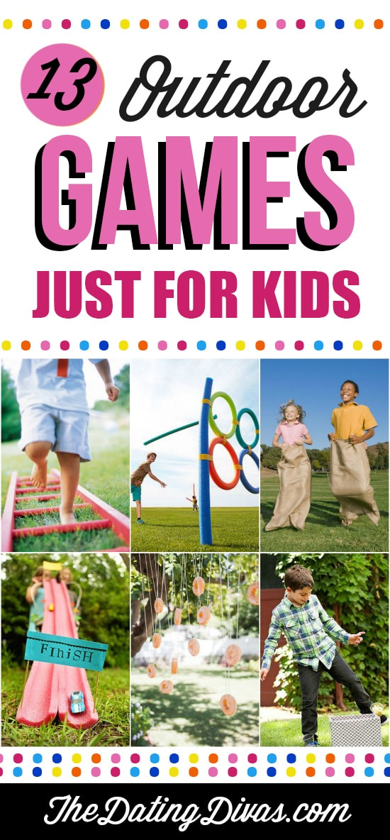 13 Outdoor Games Just for Kids