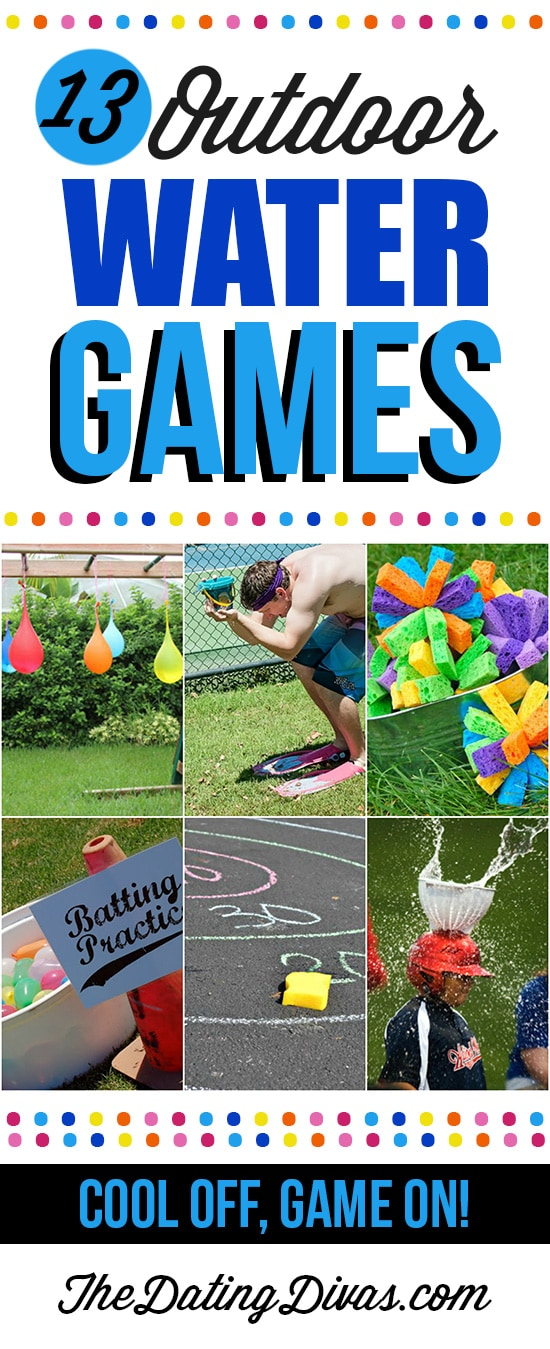 13 Outdoor Water Games
