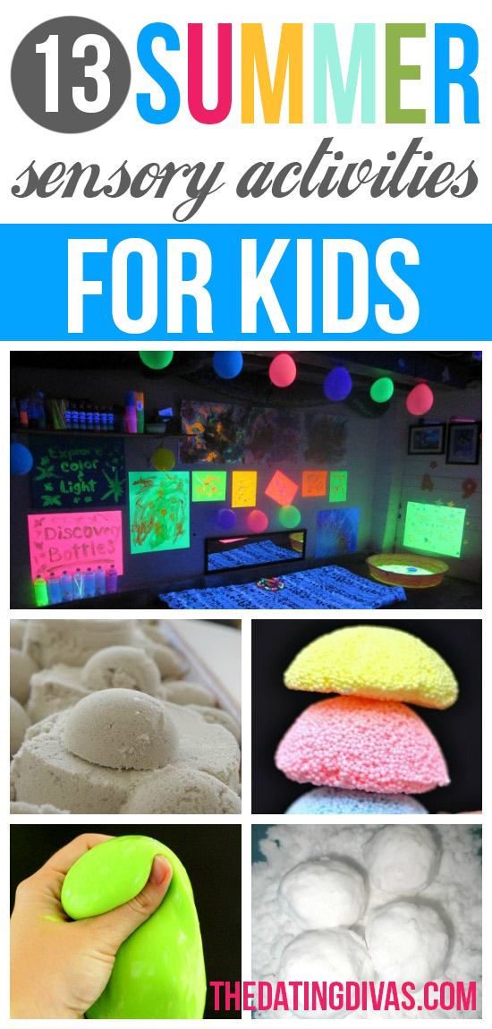 13 Summer Sensory Activities for Kids