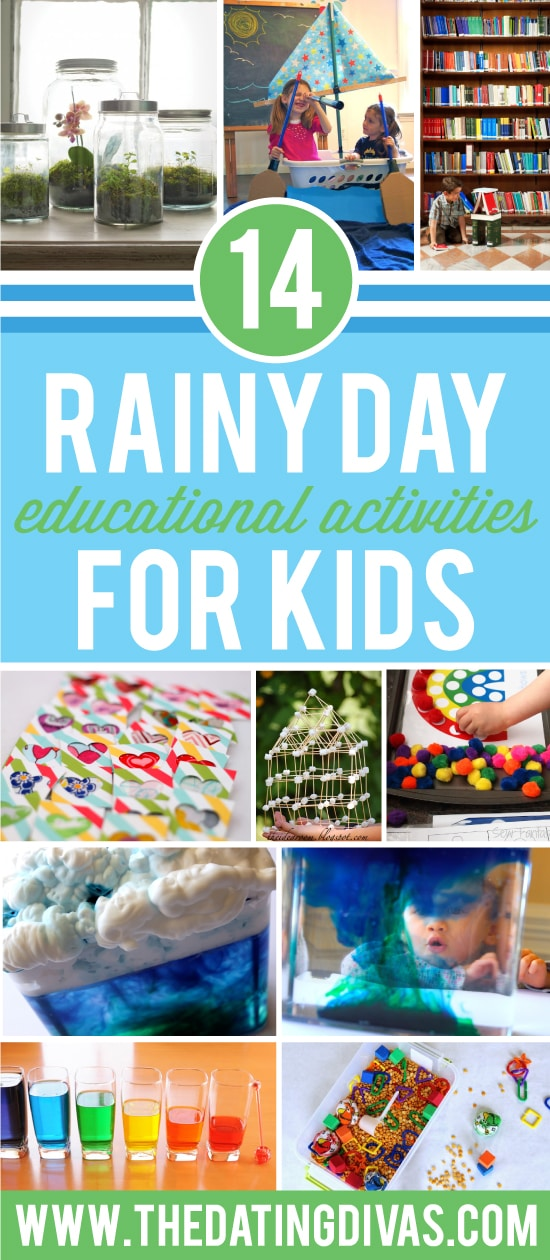 Rainy Day Educational Activities for Kids