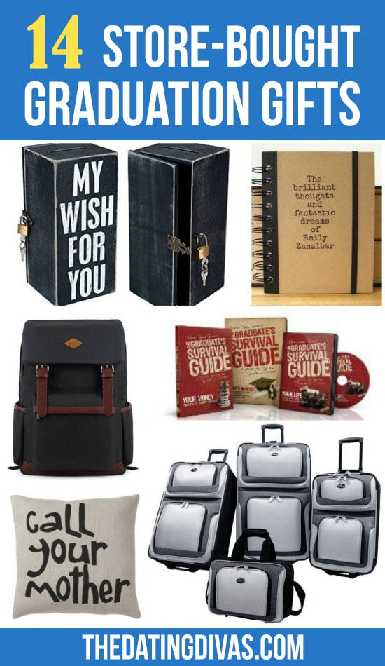 14 Store Bought Graduation Gifts