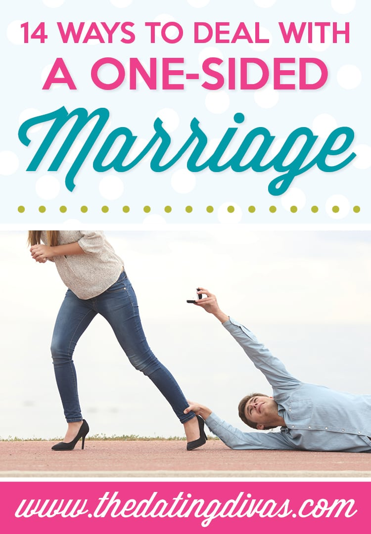 one sided marriage