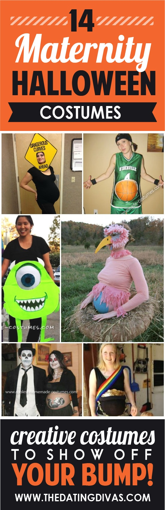 14 wonderful maternity halloween costumes