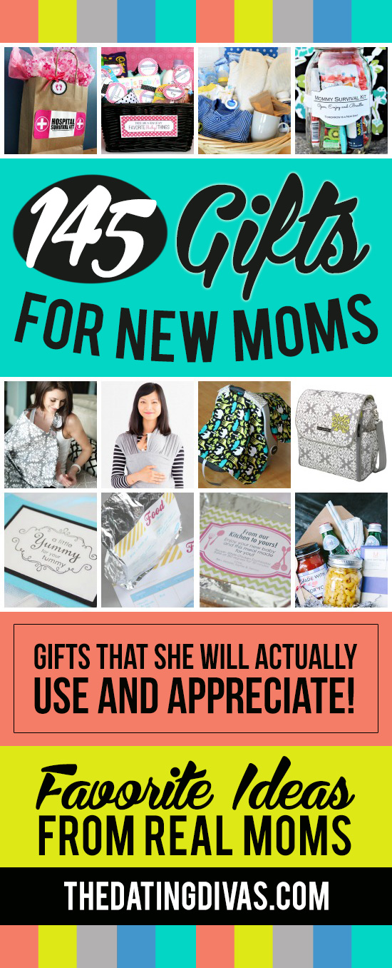 145 Gifts for New Moms