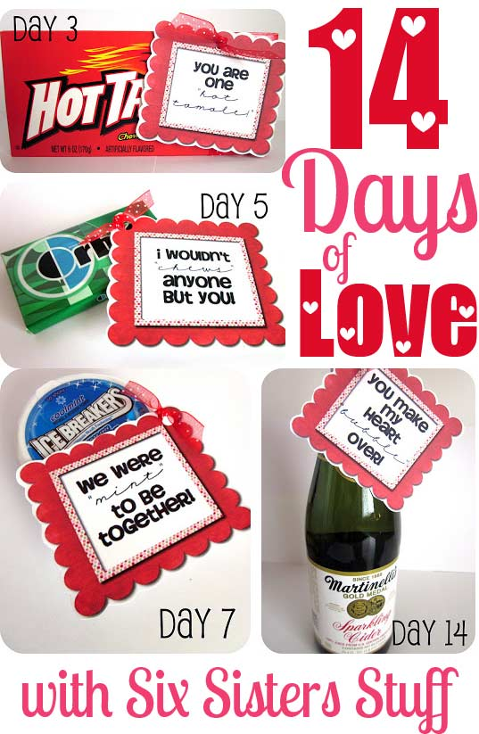 14daysoflove pin - 14 Days Of Valentines For Him