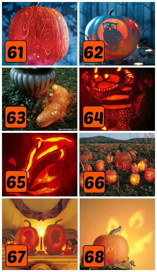 15 Super Creative Pumpkin Carving Patterns