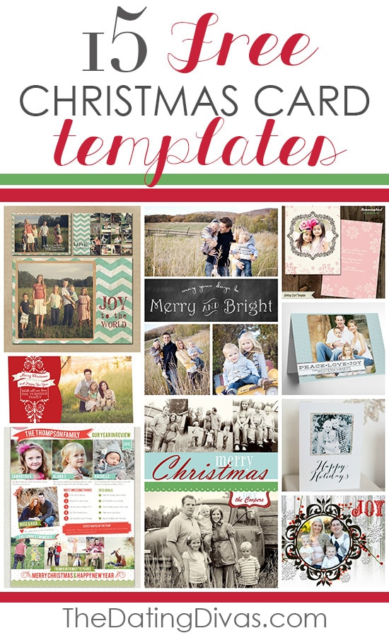 101 creative christmas card ideas the dating divas for Free holiday card templates