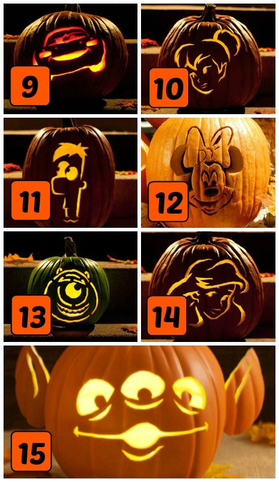 Easy Pumpkin Carving Patterns