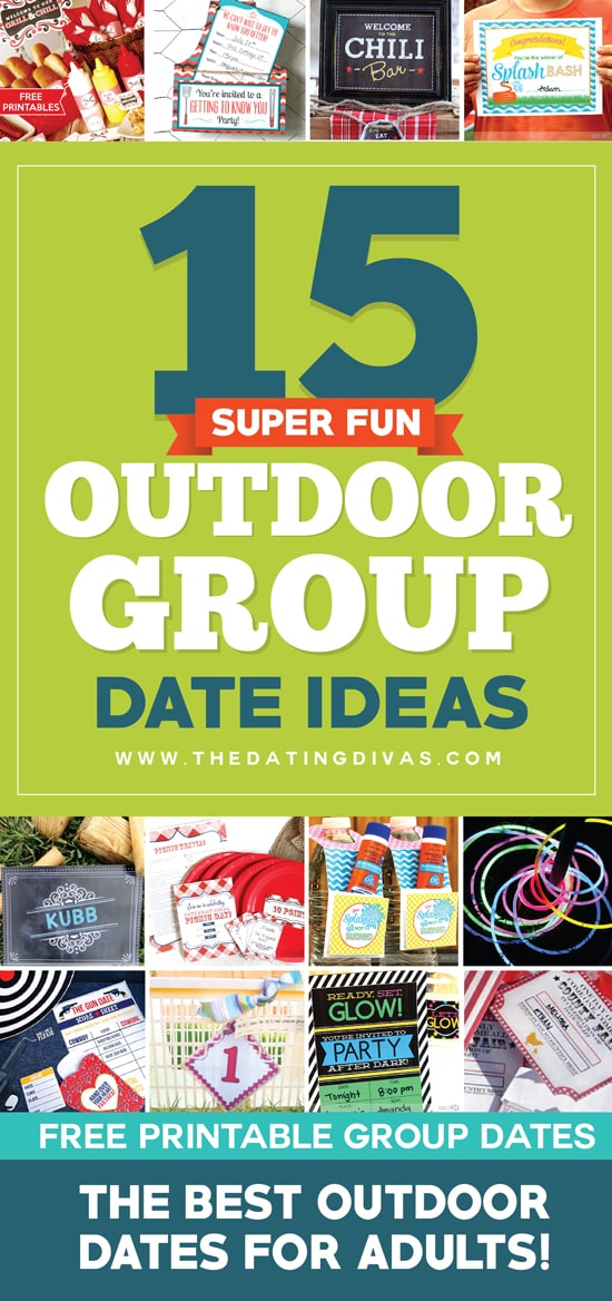 group dating ideas What do kiddie pools, a quarter and a can of shaving cream have in common not much – but they are all used in these awesome group dating ideas.
