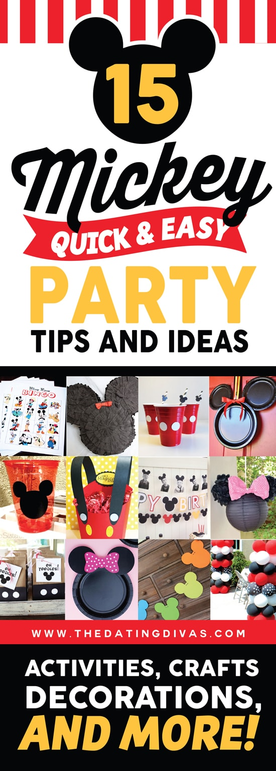 15 Totally Cute Disney Themed Party Ideas