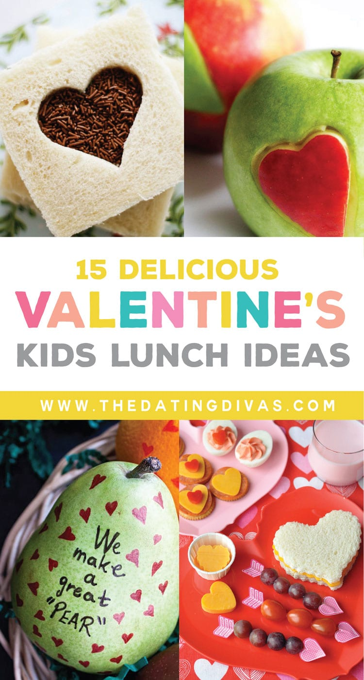 15 Valentineu0027s Day Lunch Ideas For Kids