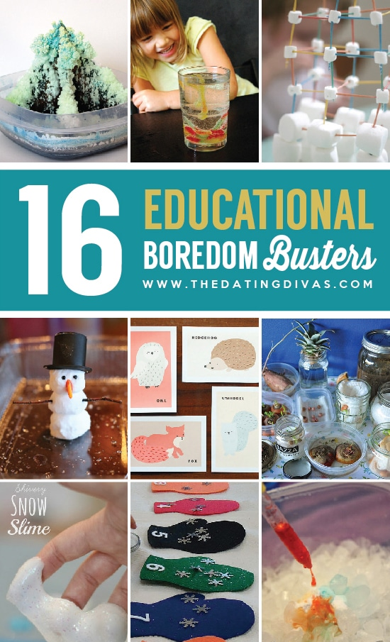 16 Educational Winter Boredom Busters