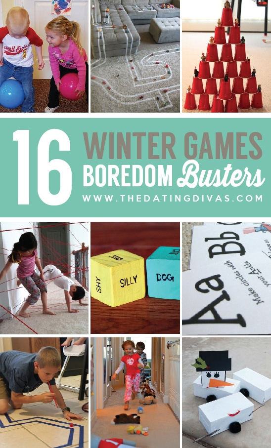 16 Winter Game Boredom Busters