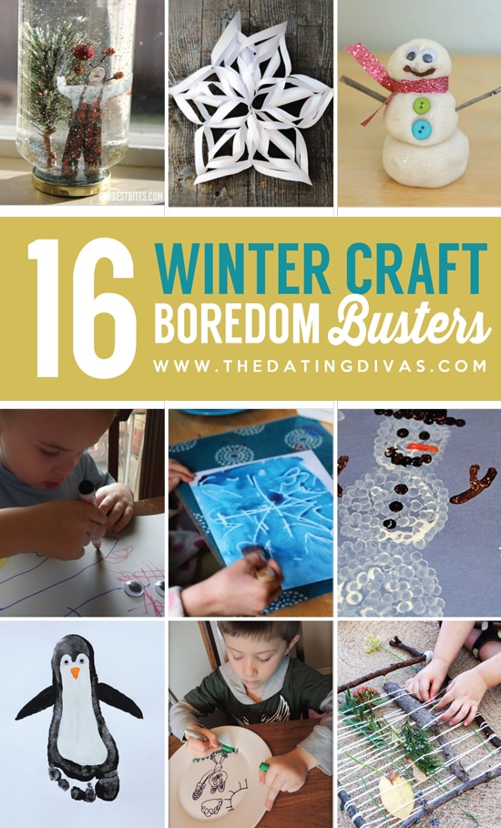 Crafty Winter Boredom Busters