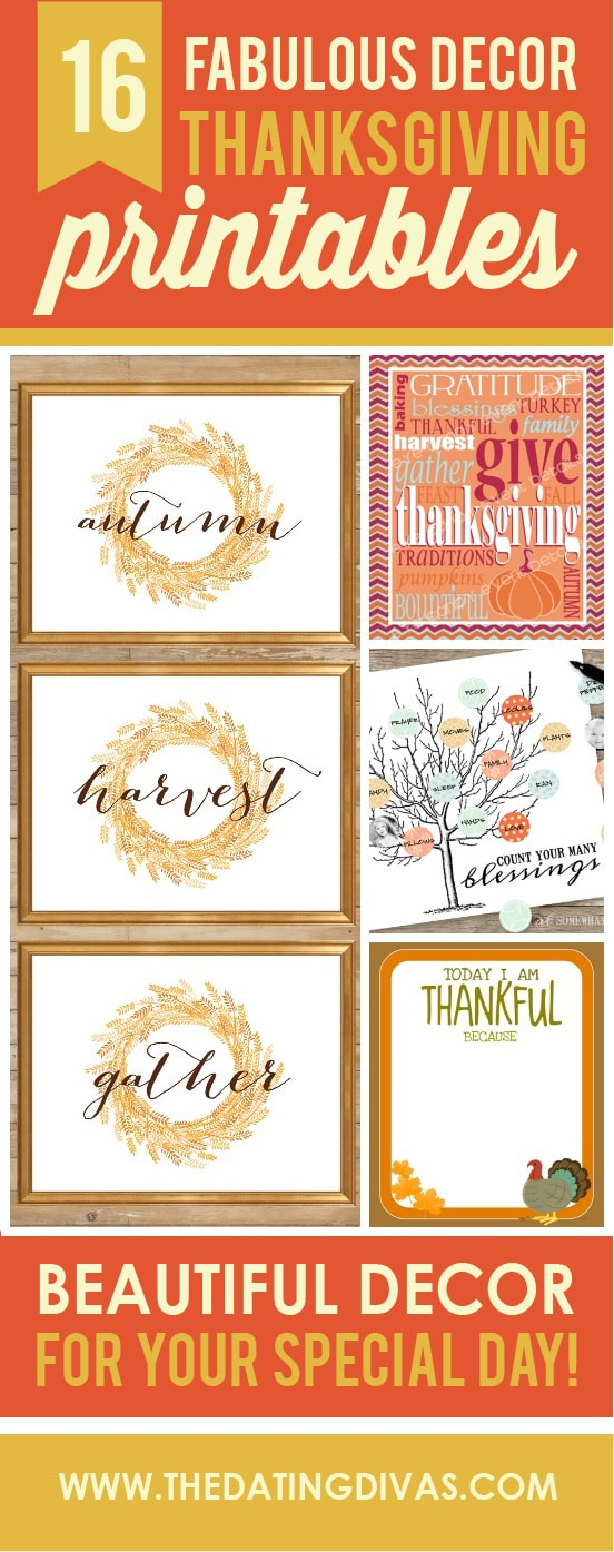 16 amazing Thanksgiving decor ideas