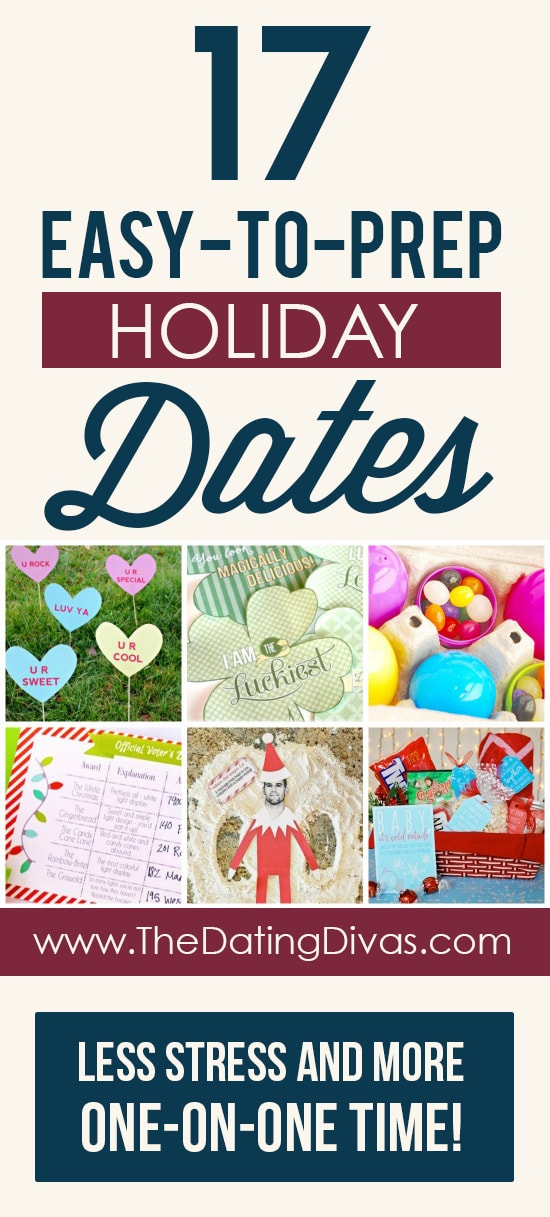 Holiday date themes with easy prep!