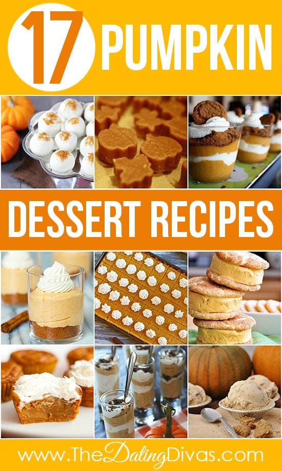 17 Pumpkin Dessert Recipes