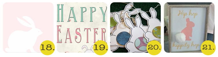 Chrissy - 50+ Free Easter Printables - 18-21