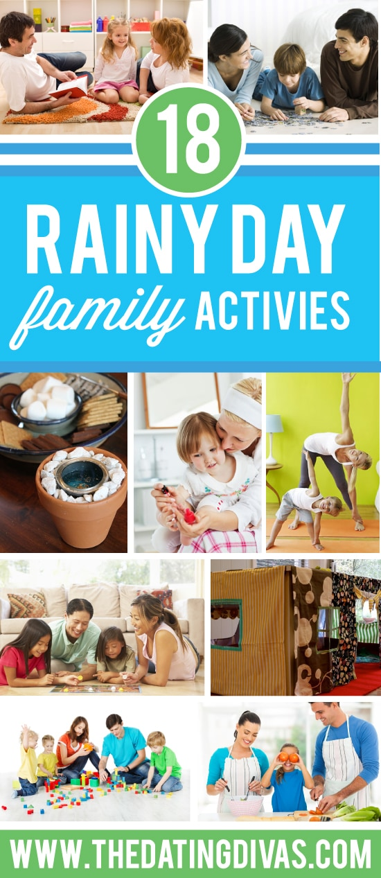 Family Things to Do on a Rainy Day