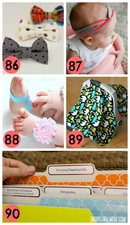 18- gifts from new moms