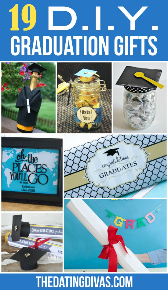 19 DIY Graduation Gifts