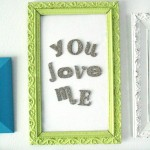 DIY Magnetic Love Board