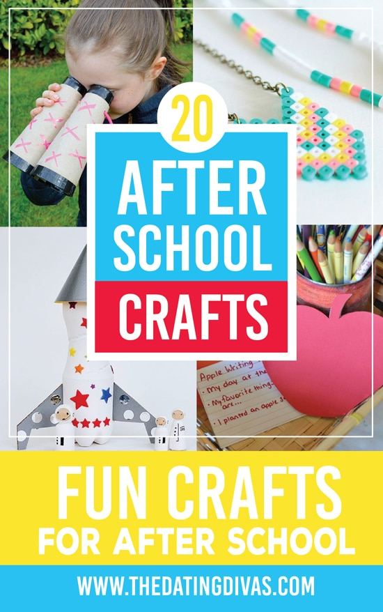 20 Fun and Easy After School Crafts