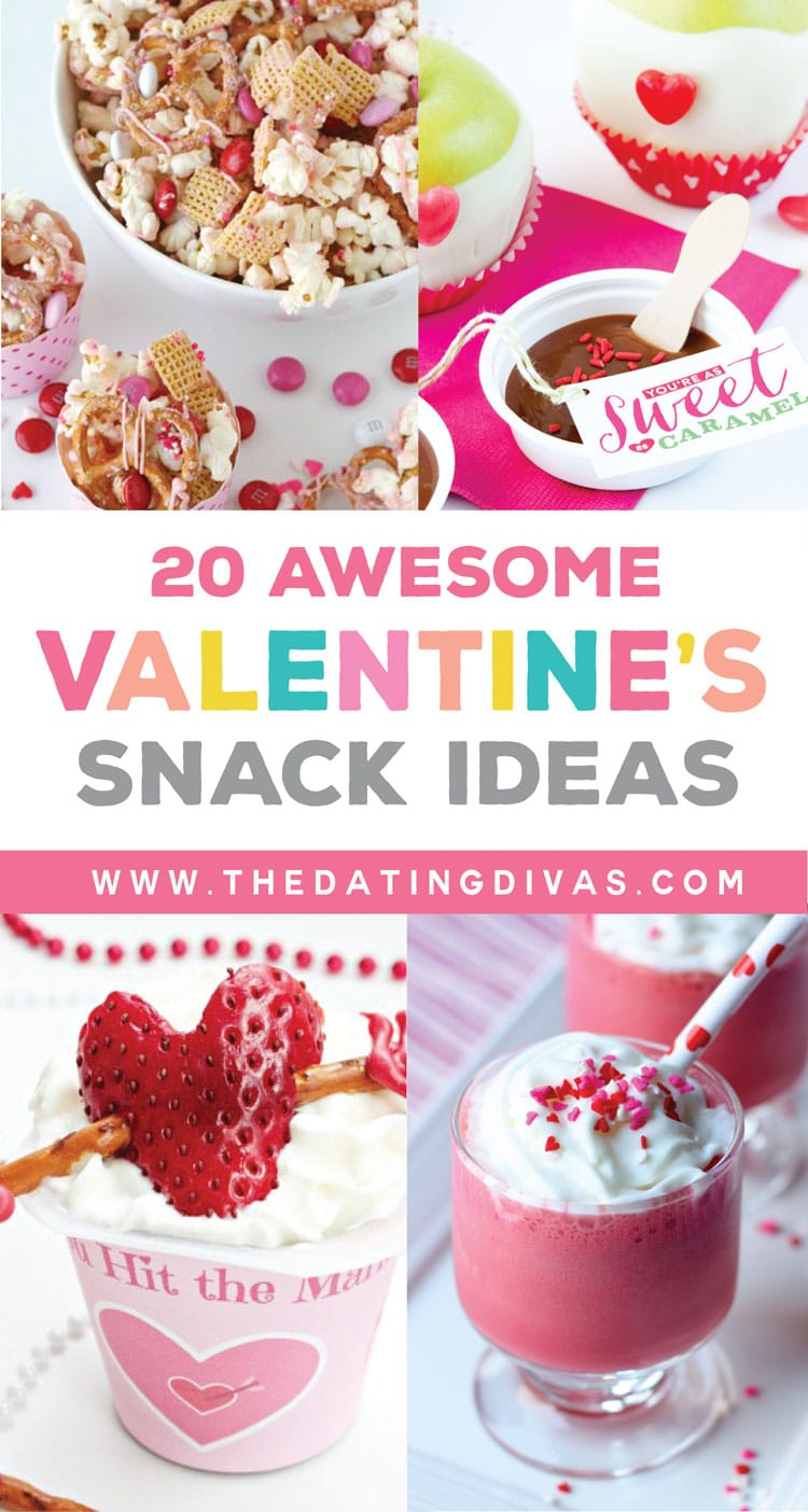 20 Awesome Snack Ideas for Valentine's Day
