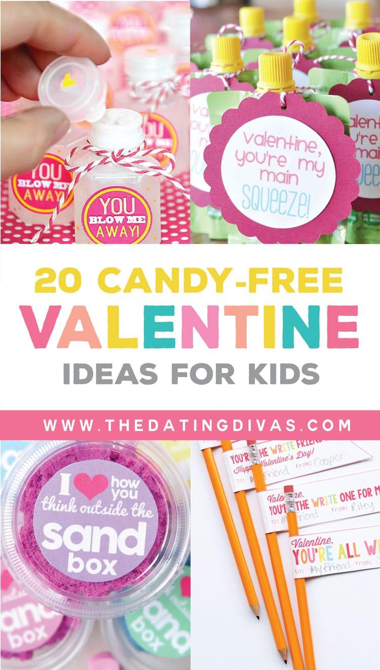 20 Candy Free Valentine's Ideas for Kids