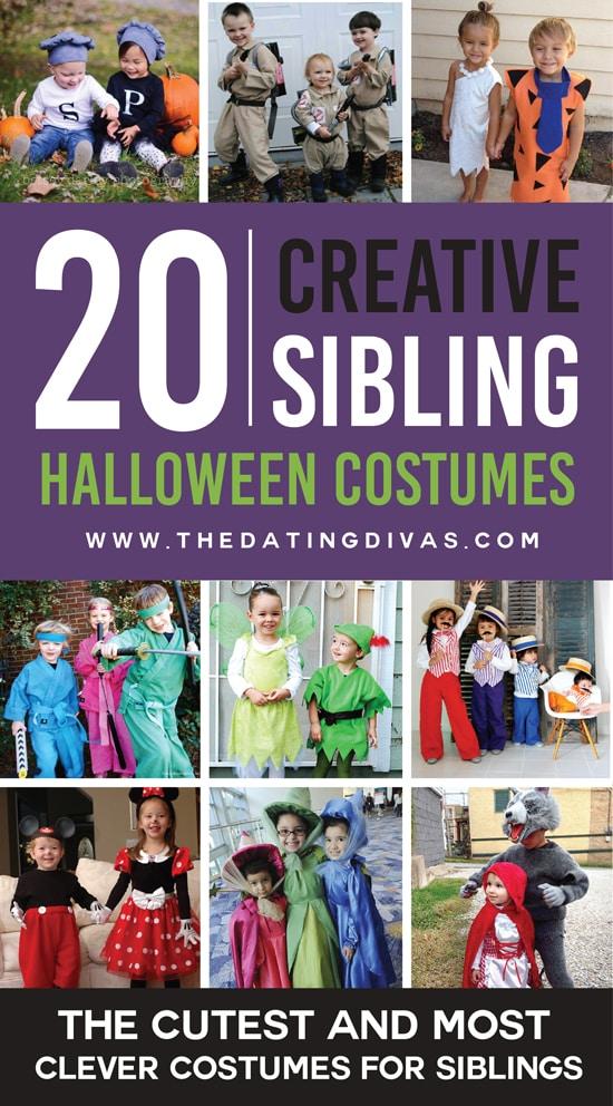 20 Cute Sibling Costume Ideas