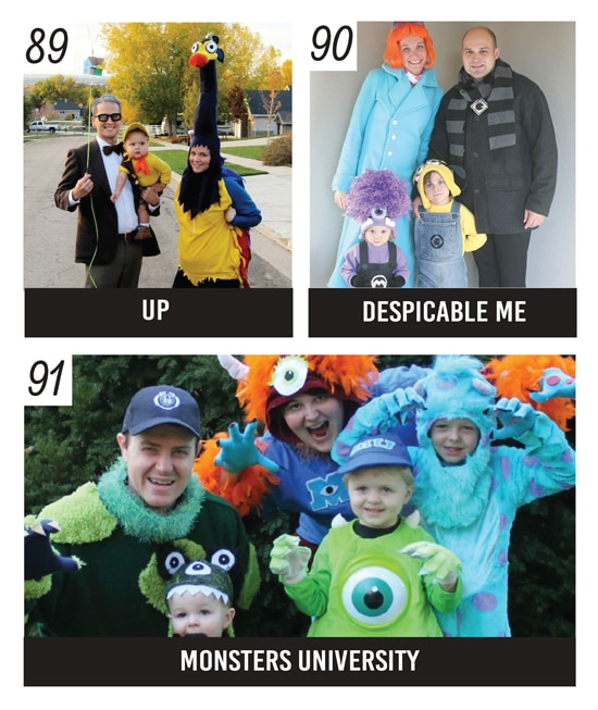 20 Family Halloween Costumes Inspired by Movies