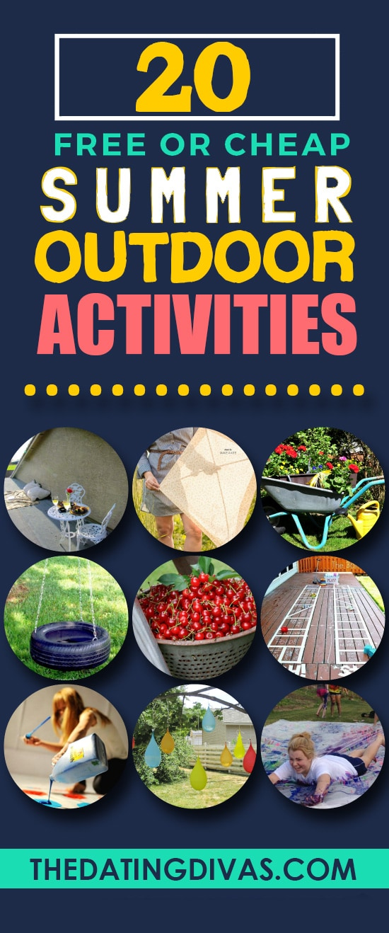 20 Fun Activities for Outdoors