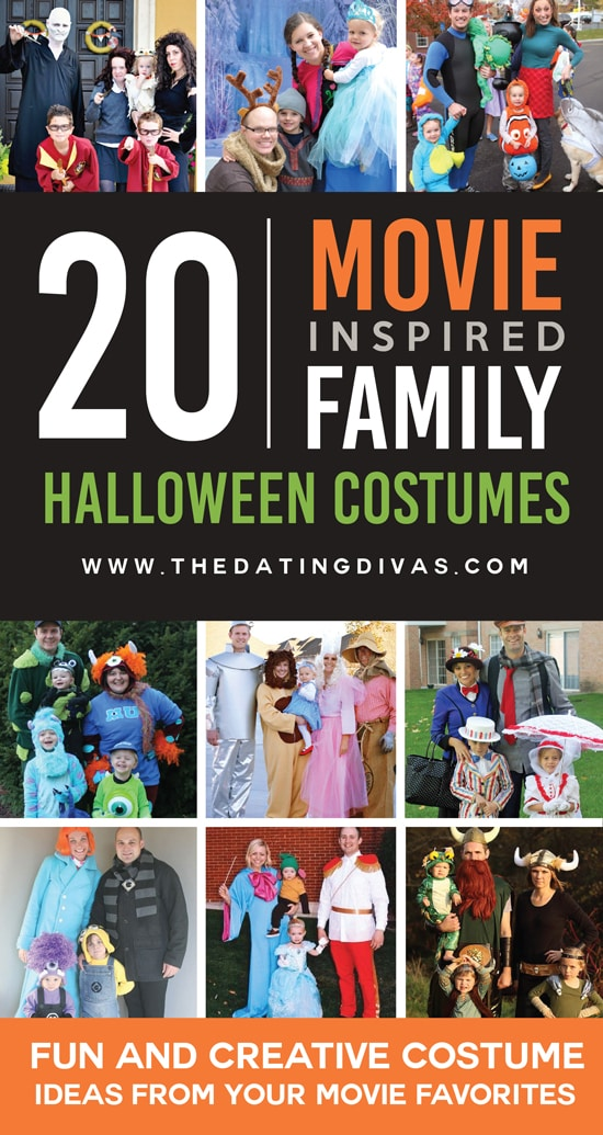 20+ Movie Inspired Costume Ideas for Families