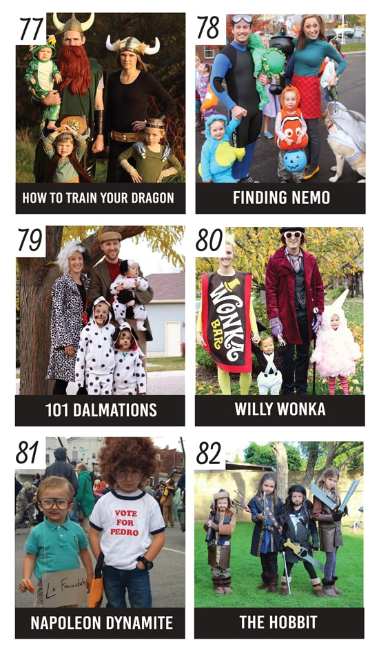 20+ Movie-Inspired Family Costumes
