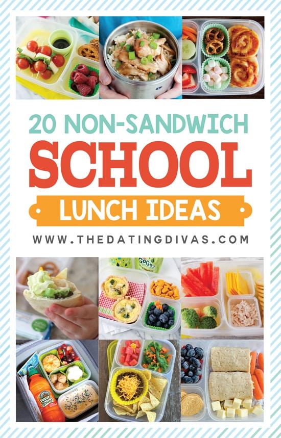 20 Non-Sandwich School Lunch Ideas