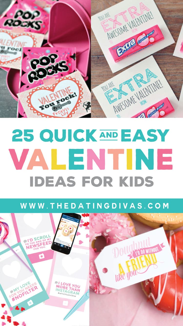 25 Quick and Easy Valentines Ideas for Kids