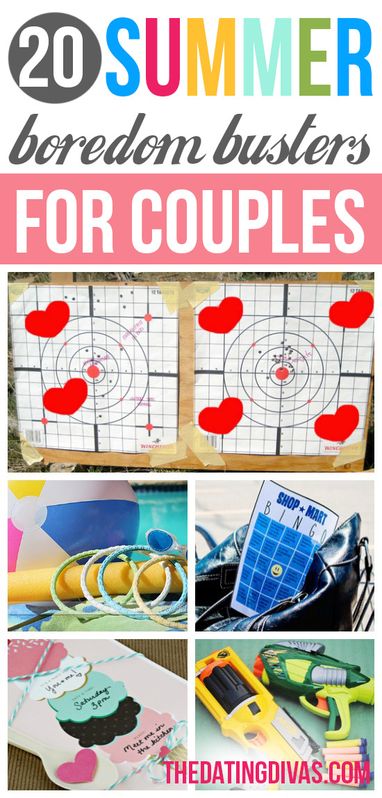 20 Summer Boredom Busters for Couples