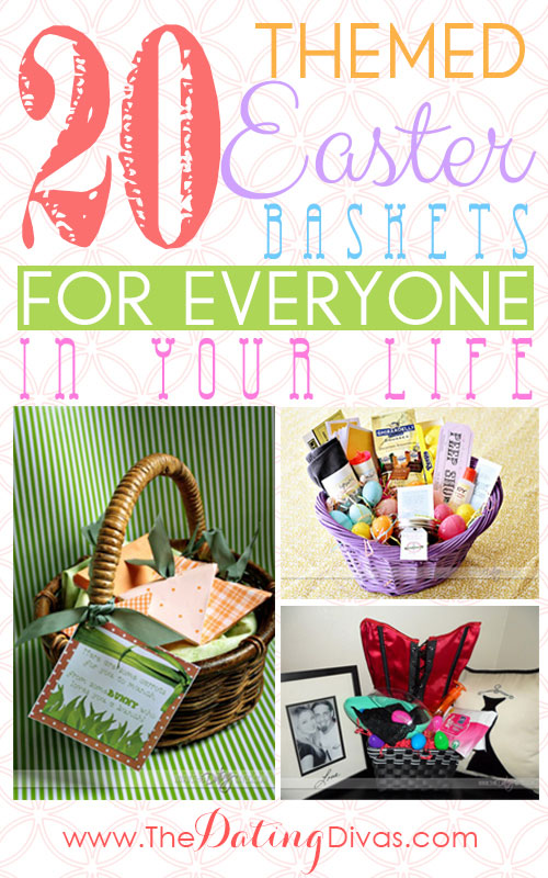 20 easter basket ideas for everyone on your list easter basket ideas negle Images