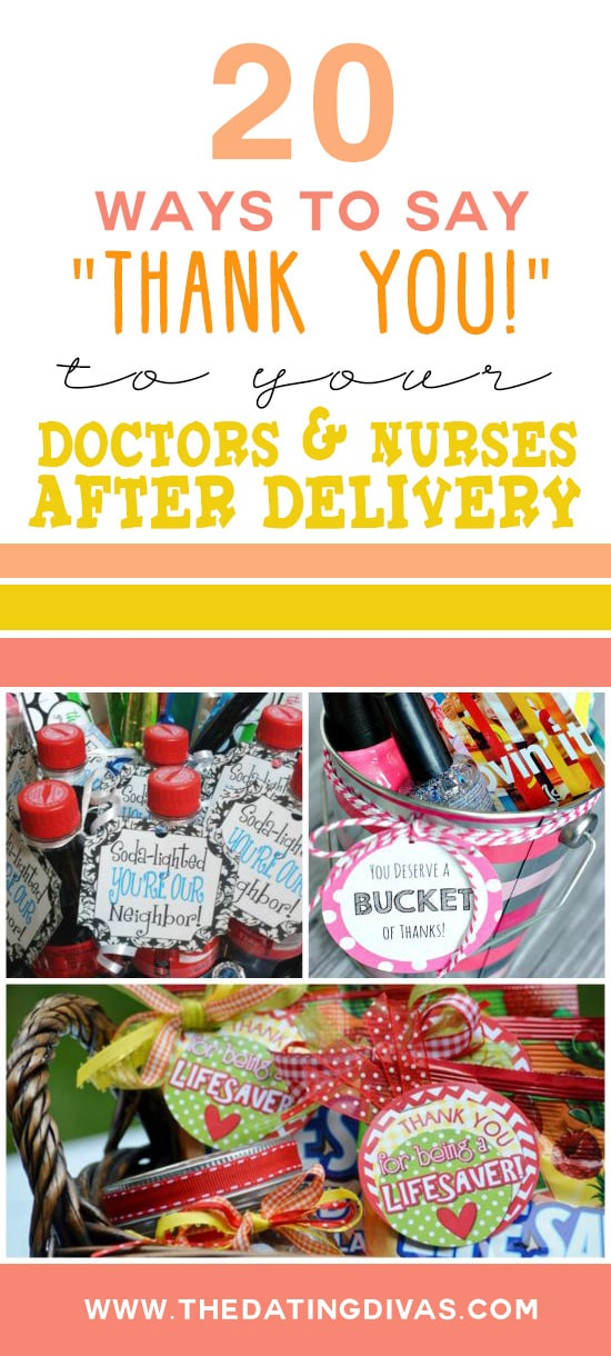 20 Ways to Show Gratitude to Doctors and Nurses after Delivery