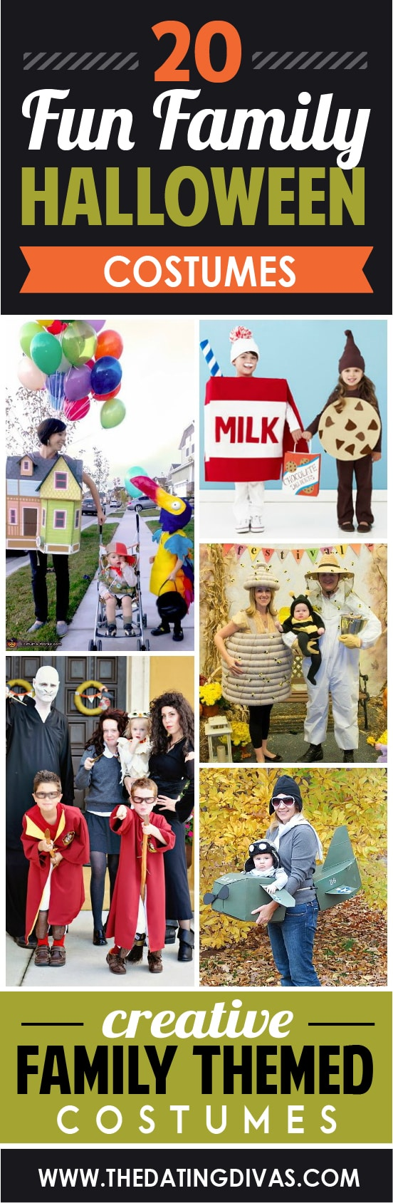 20 family halloween costumes