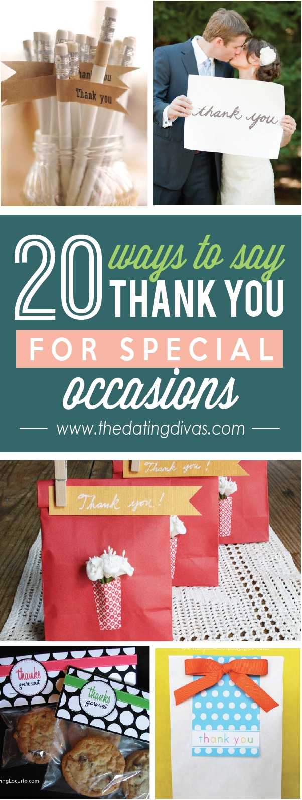 20 ways to say Thank You for Special Occasion