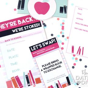 Back To School Party Invitation Set