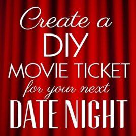 DIY Movie Tickets printables