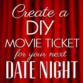 DIY Movie Tickets printables