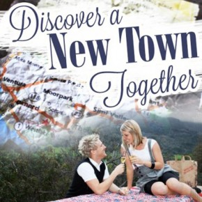 Discover a new town together - date night idea.