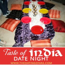 A Taste of India Date Night Theme